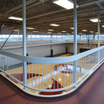 2nd story running track
